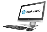 "Моноблок HP EliteOne 800 G2 All-in-One 23""(1920 x 1080)NT Core i3-6100,4GB DDR4 (1x4GB),500GB 7200 RPM,DVD-RW,USB kbd/mouse,High Adjustable stand,BCM 802.11n BT,FreeDos,3-3-3 Wty"