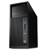 Рабочая станция HP Z240 TW, Core i7-6700, 8GB(2x4GB)DDR4-2133 nECC, G2 256GB PCIe, SuperMulti ODD, Intel HD GFX 530, mouse, keyboard, CardReader, Win10Pro 64 downgrade to Win7Pro 64