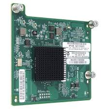 Адаптер HP QMH2572, Host Bus Adapter, Qlogic-based, Fibre Channel mezzanine card, Dual port, 8Gb, for BL cClass Gen8 (659822-001, 656452-001)
